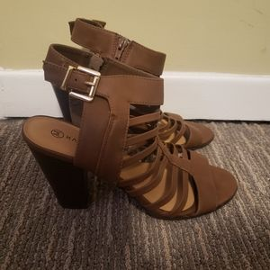 Harlow Wedge Sandals Size 10